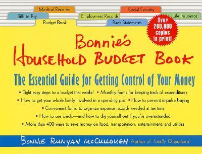 Bonnie's Household Budget Book By McCullough, Bonnie Runyan